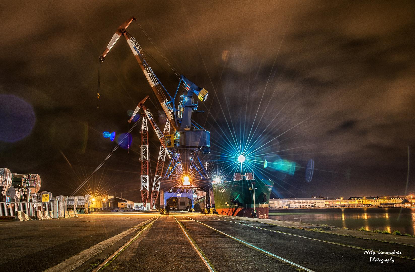 Errances sur le port