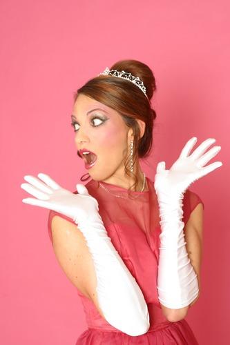 Erschrockene Prinzessin