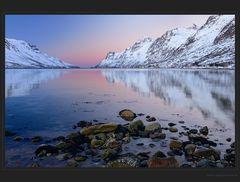 Ersfjorden Spiegelung
