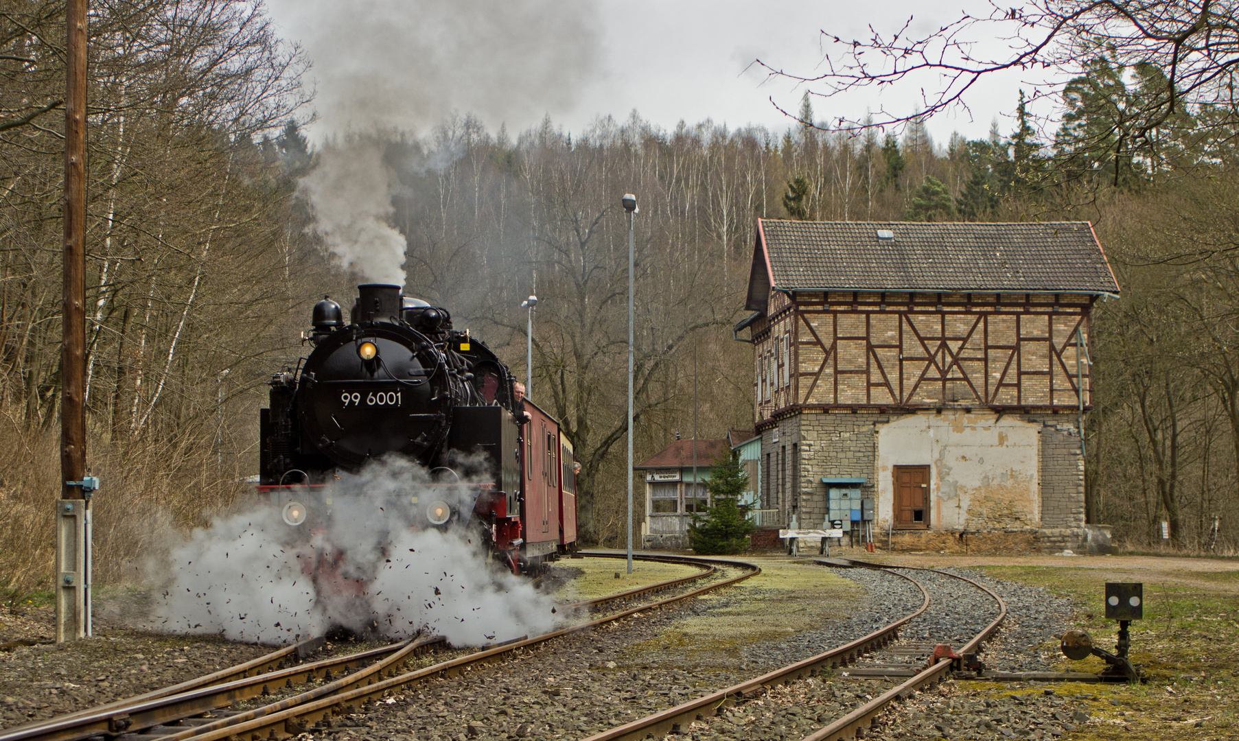 "Erst mal ""Freie Bahn"" schaffen..."