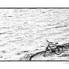 - erst Rad fahren, dann schwimmen -
