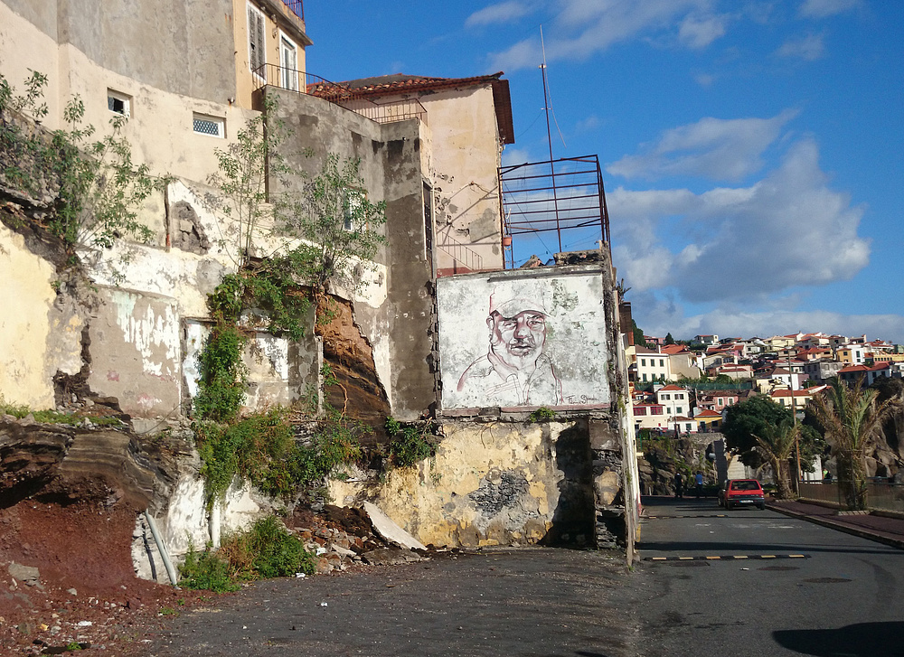Erst Sturmflut, dann Street Art