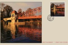 Erstagsbrief Tegeler Hafenbrücke