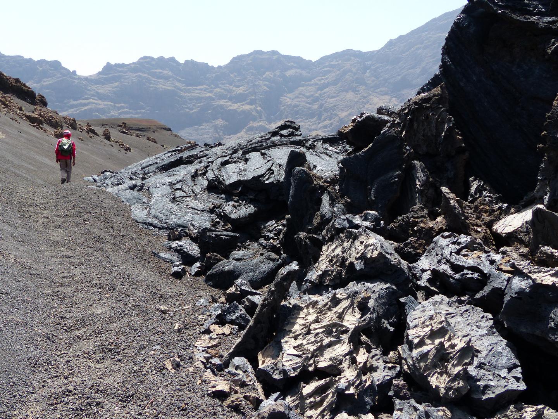 erstarrte Lava am Pico de Fogo