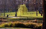 Erste Frühlingswehen im Rosensteinpark