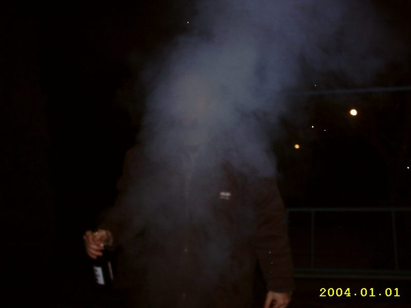 Erste Grillparty 2004