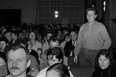 Erste Rostocker Dialogrunde Oktober 1989