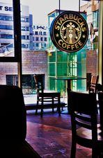 erster   Ausblick  beim Morgenkaffee