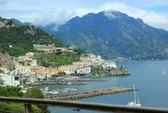 Erster Blick auf Amalfi