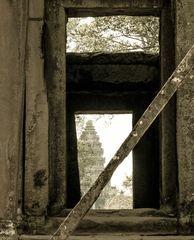 Erster Blick auf Angkor Wat
