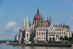 Erster Blick aufs Parlament