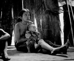 Dayak aus Borneo
