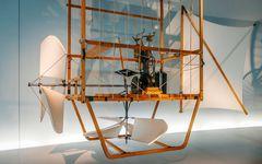 Erster Motorflug der Geschichte - 1888