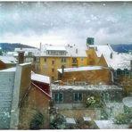 Erster Schnee ...