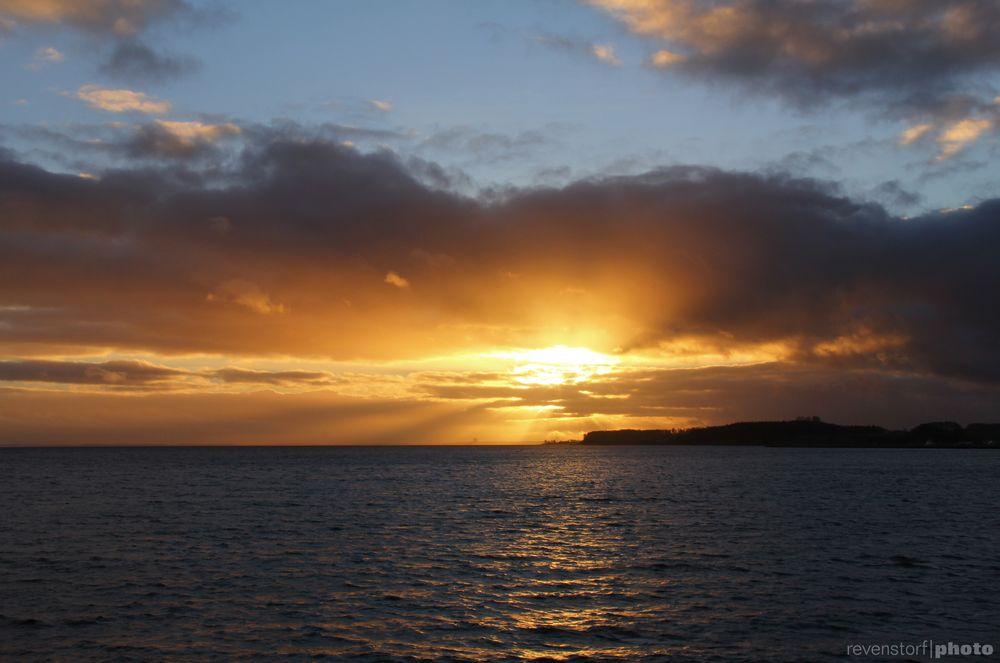 Erster Sonnenuntergang 2013