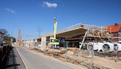 """Erster Teil des Brückenneubaus ist """"rohbaumäßig"""" fertiggestellt"""
