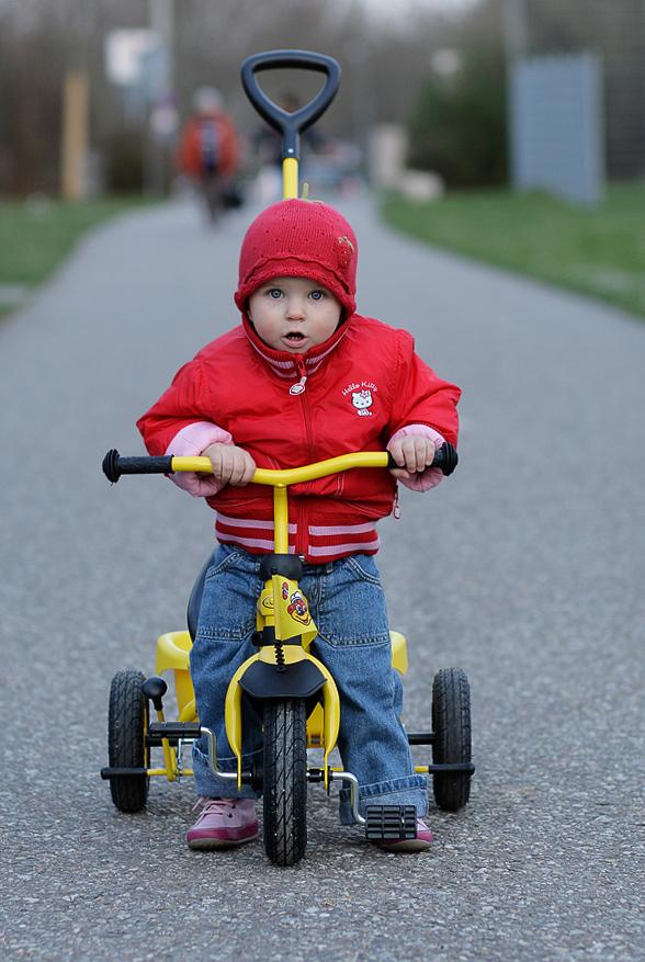 erstes Dreirad