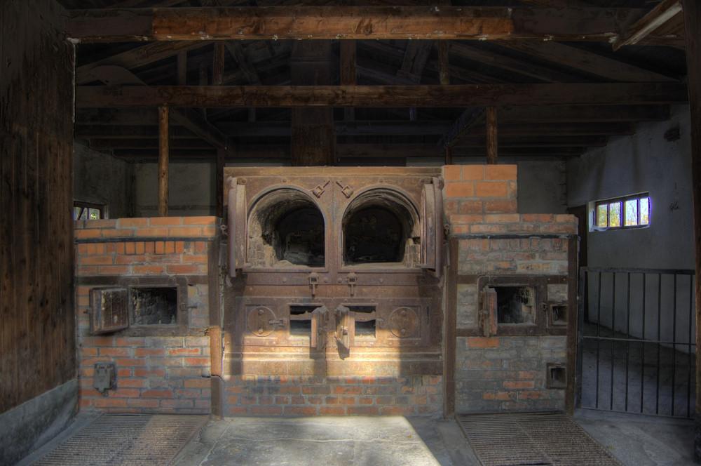 Erstes Krematorium - KZ Dachau
