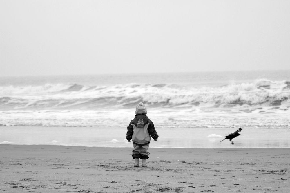 - Erstes mal am Meer -