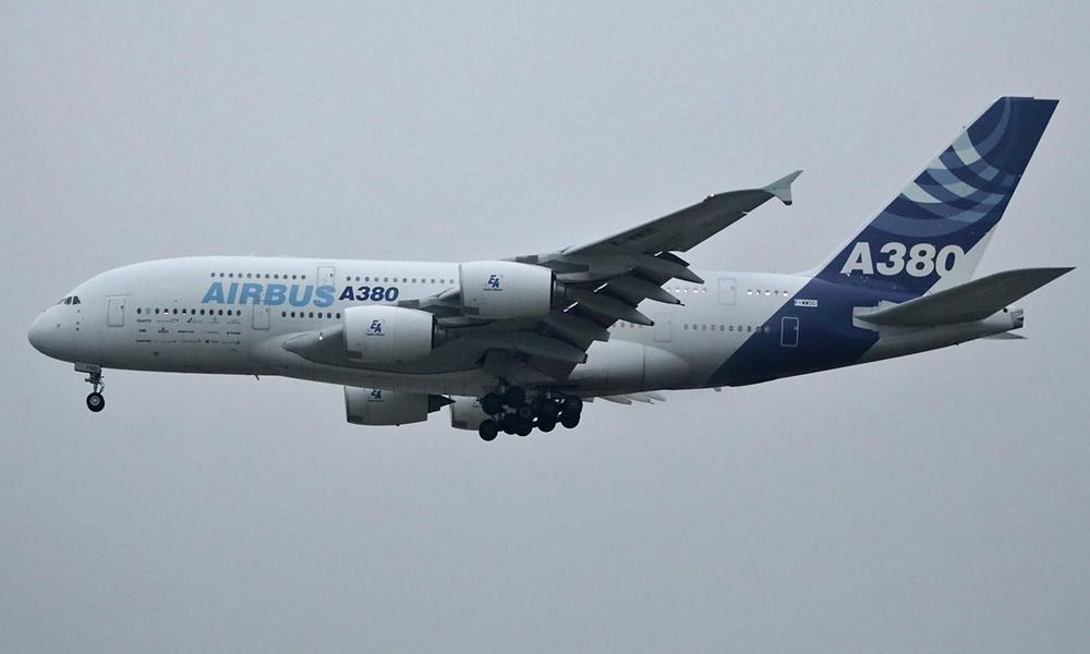Erstlandung A380
