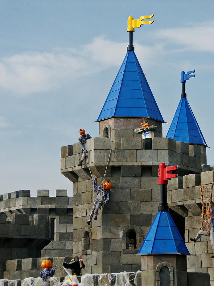 Erstürmung der Burg