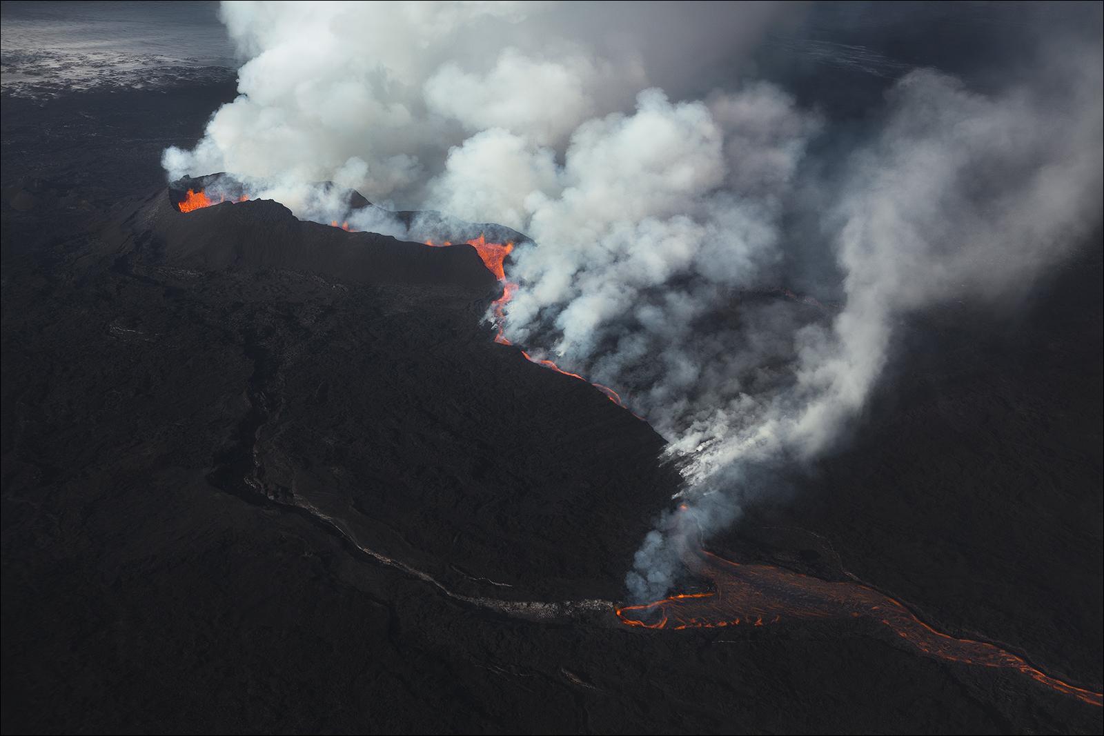 [ ... eruption ]