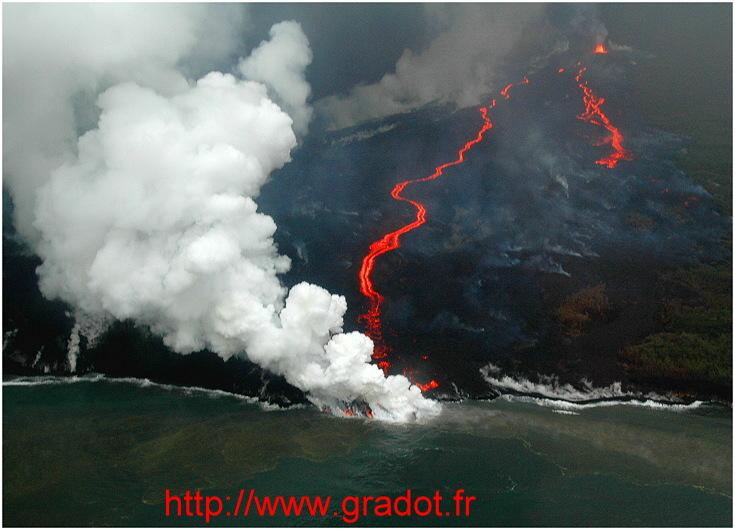 Eruption Avril 2007