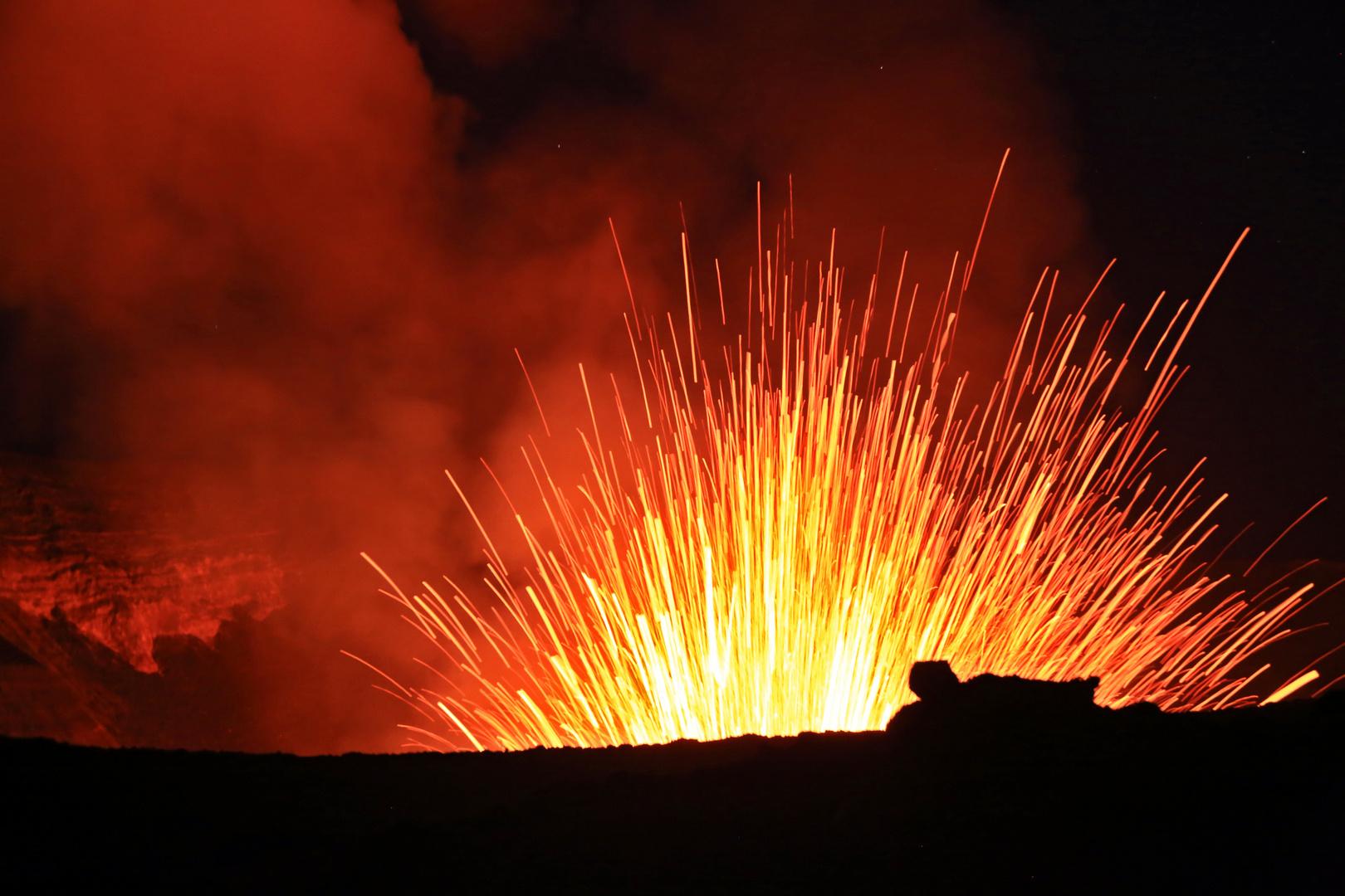 Eruption Vulkan Yasur- Tanna Island- Vanuatu