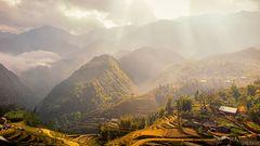 Erwachende Bergwelt