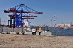 Erweiterung des Containerterminals Tollerort .