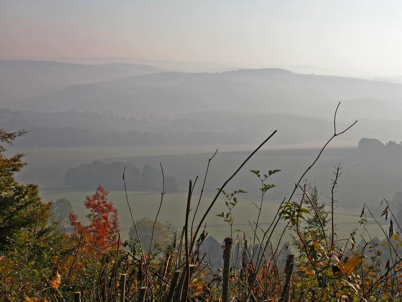 Erzgebirge im Herbst