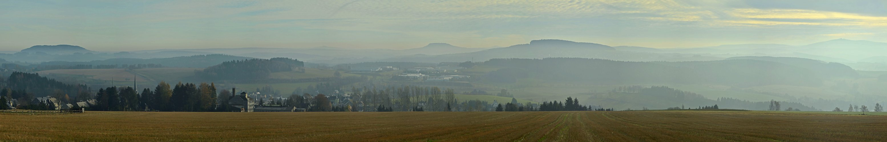 Erzgebirge im November