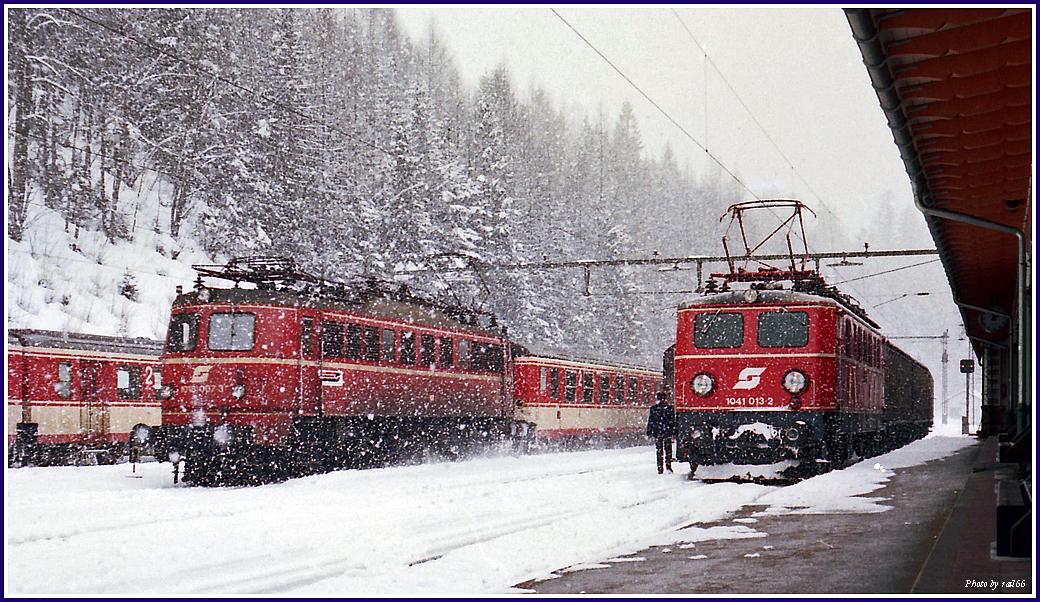 Erzherzog Johann im Schnee