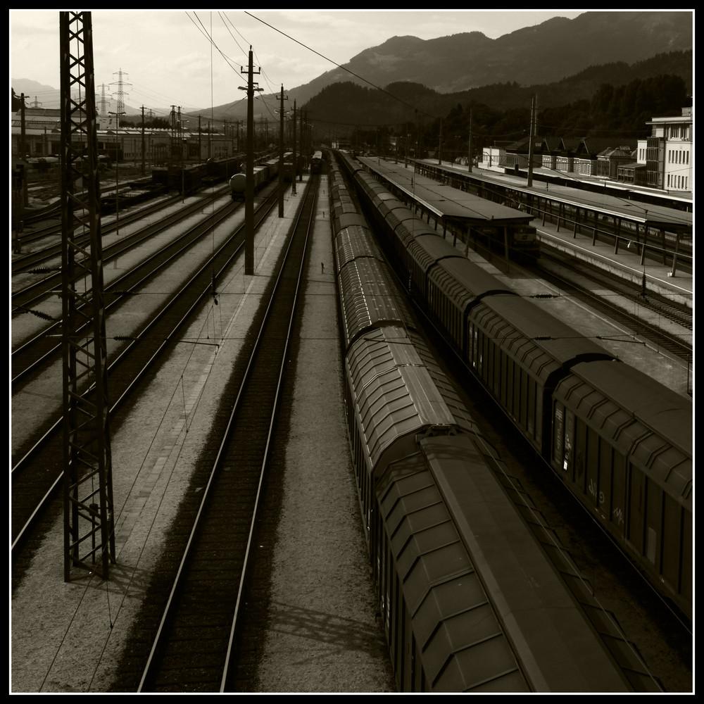 Es fährt ein Zug nach …