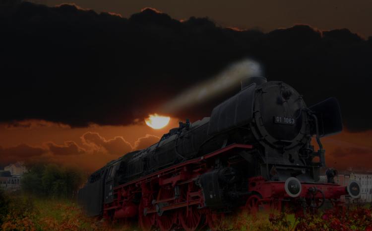 --es fährt ein Zug nach.........