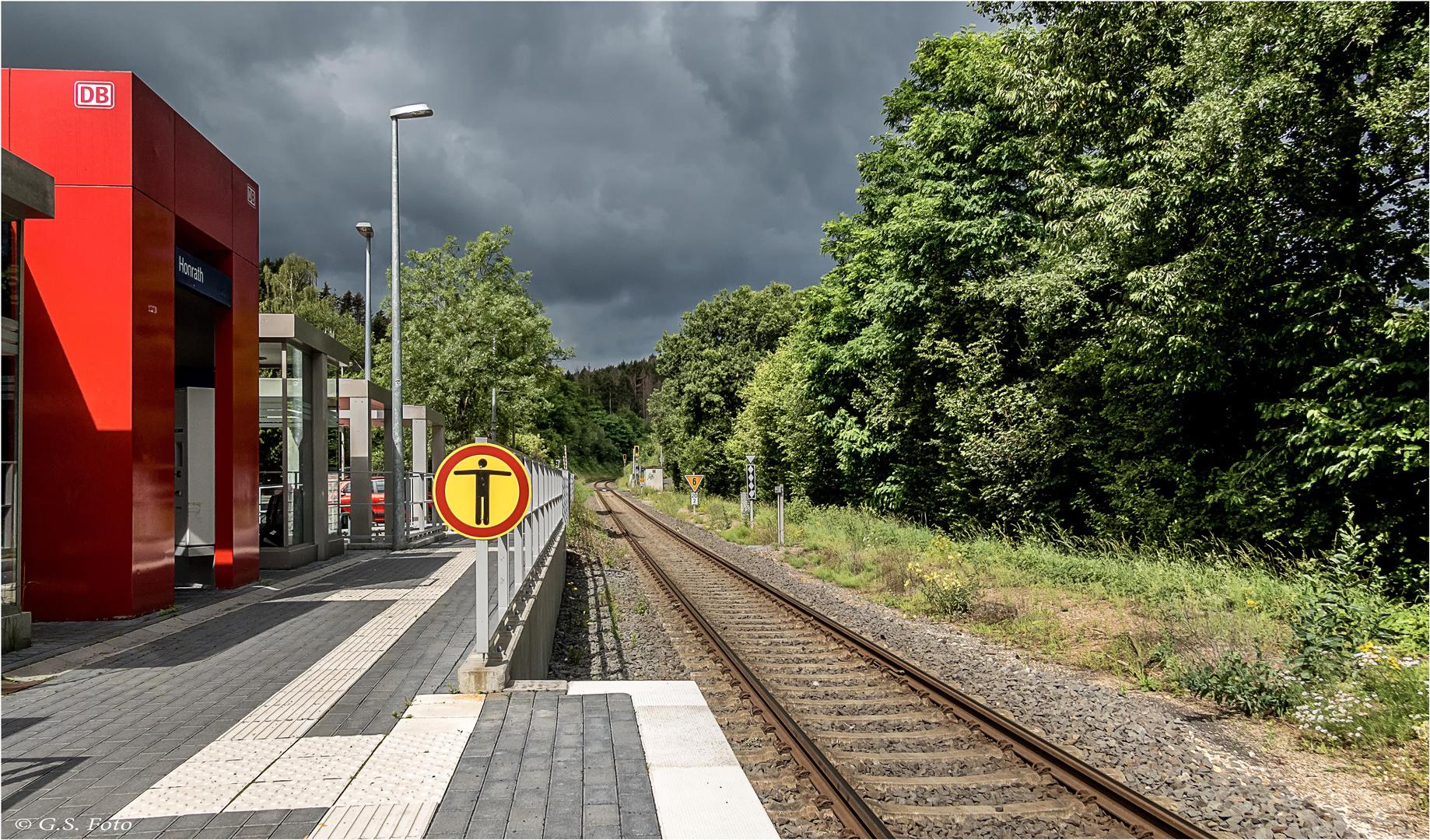 Es fährt kein Zug............