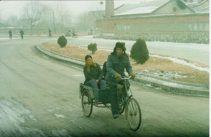 Es frio el invierno aunque sea bajo las faldas del tibet