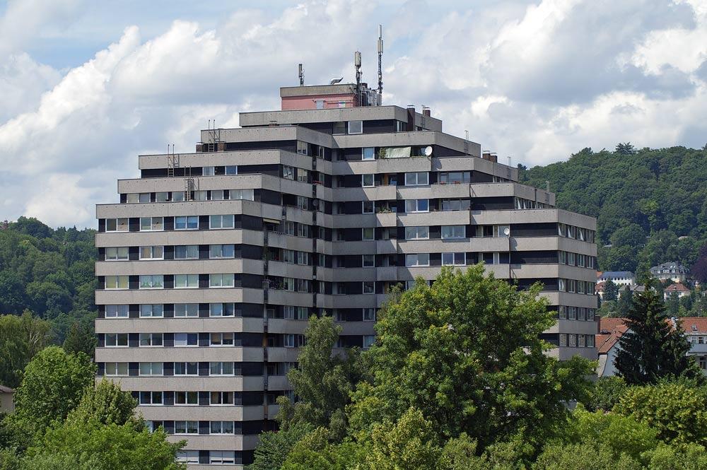 Es gibt auch Bausünden in Marburg