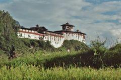Es gibt ihn nicht mehr - Dzong von Wangdue Phodrang