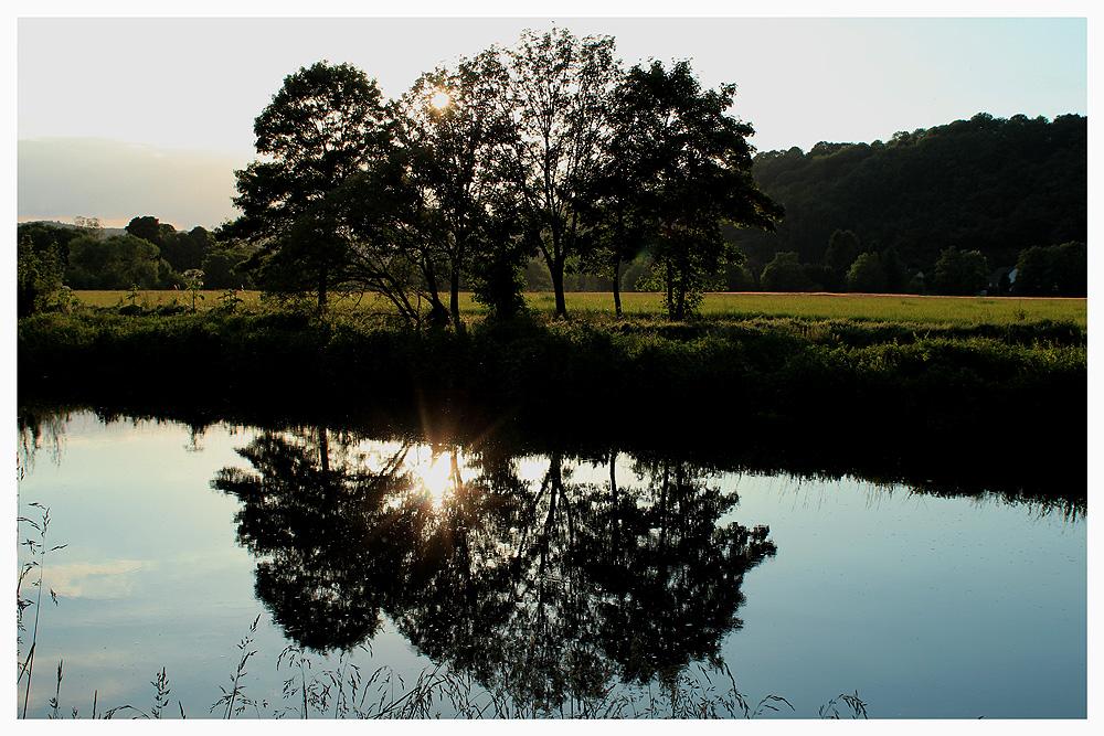 Es gibt kein Jenseits, kein anderes Ufer mehr, ...