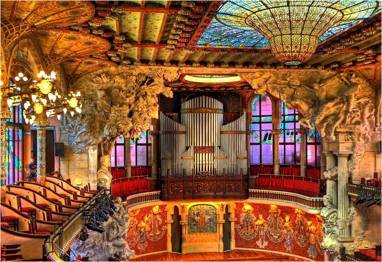 Es gibt viel zu sehen im Konzertsaal