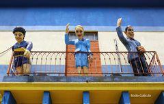 Es grüßen vom Balkon....