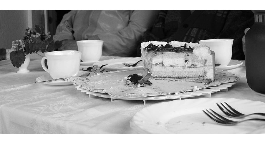 Es ist noch Kuchen da !