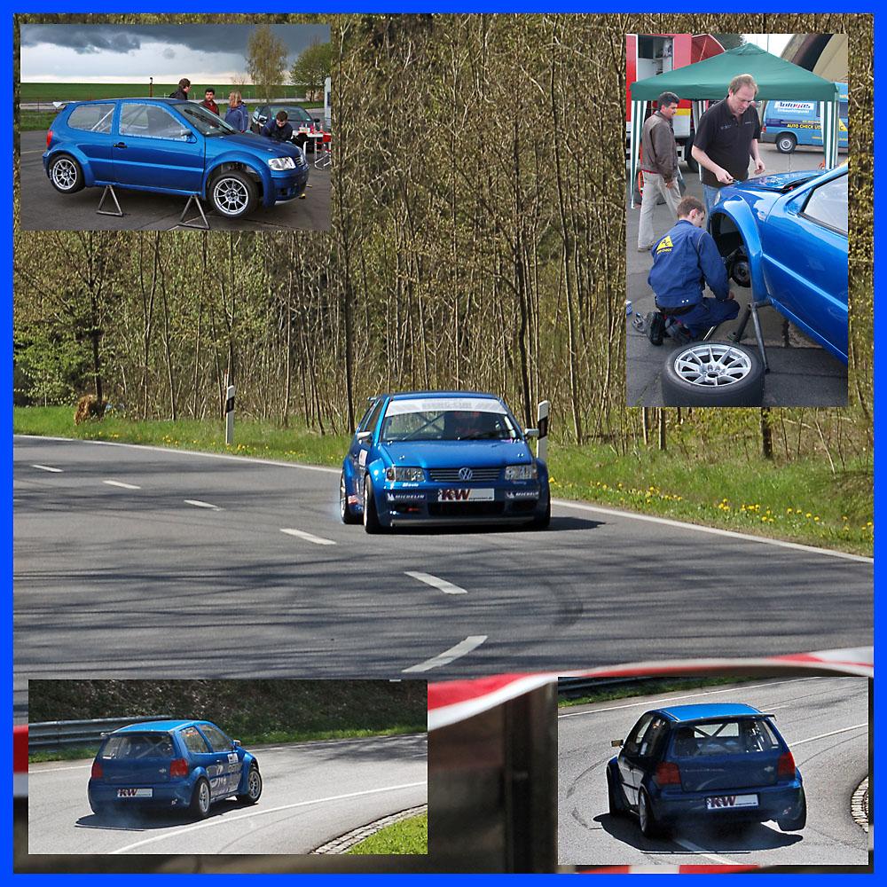 Es kommt Farbe ins Spiel ... neue Autos braucht der Berg !!!