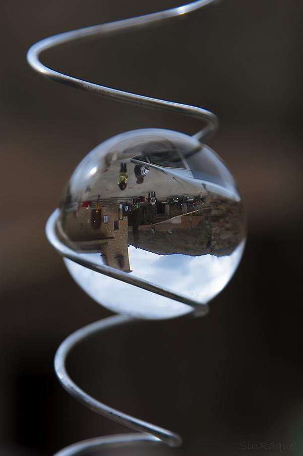 Es la bola de cristal