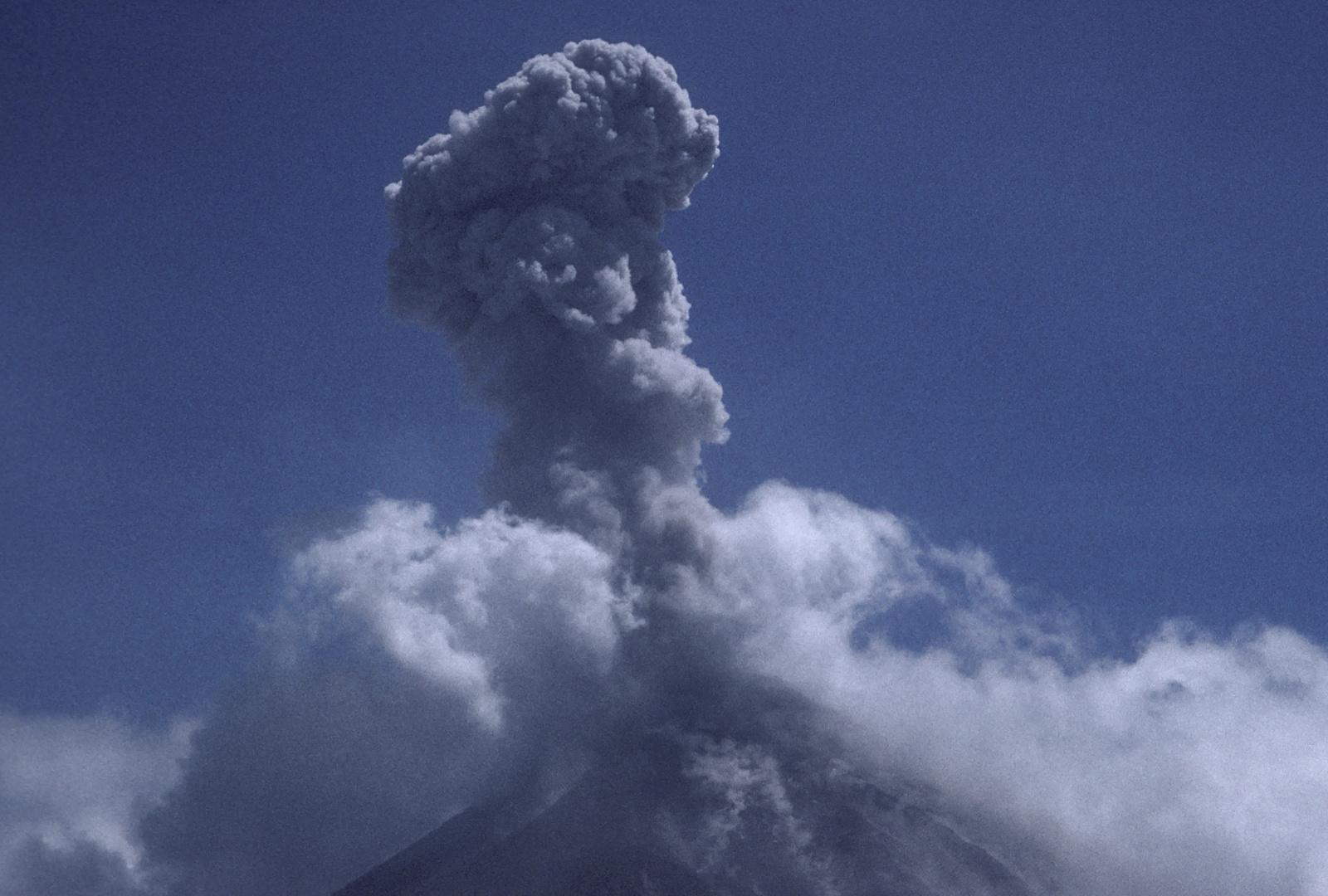 Es regt sich was im Vulkan Arenal