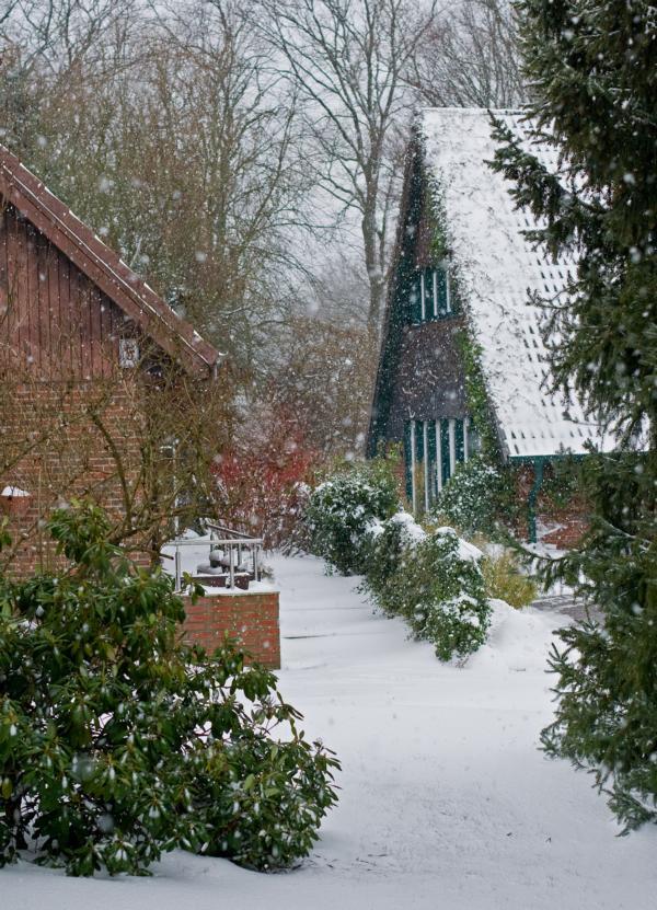es schneit........