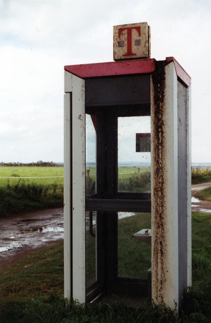 es war einmal: Telefonzelle