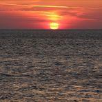 es wird Abend an der Nordsee...