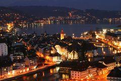 Es wird dunkel in Luzern